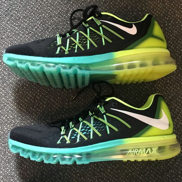 ecaec9e04b2e ... Running Shoes Men s 12 Black Green. M 5bd32ed5bb761529a09a14ca